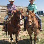 O'Bryan and Wollert Competing at World's Largest Jr High Rodeo
