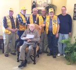 Lamar Lions Club Honors Don Ater for 60 Years of Service