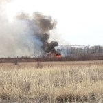 Las Animas Brush Fire Continues into Second Day