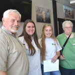 Leadership Students Brief Rotary on Experiences