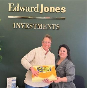 Donut Friday at Edward Jones