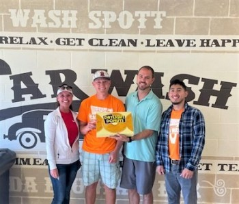 Wash Spott Car Wash Gets the Donuts