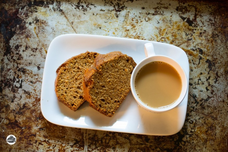 Sweet Potato Bread w/ Brown Sugar Glaze