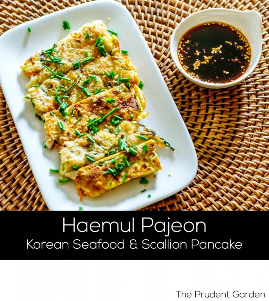 How to Make Korean Seafood and Scallion Pancake (Haemul Pajeon)