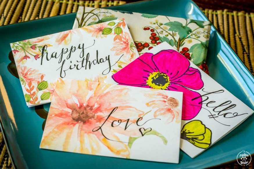 Free Flower Card Printables