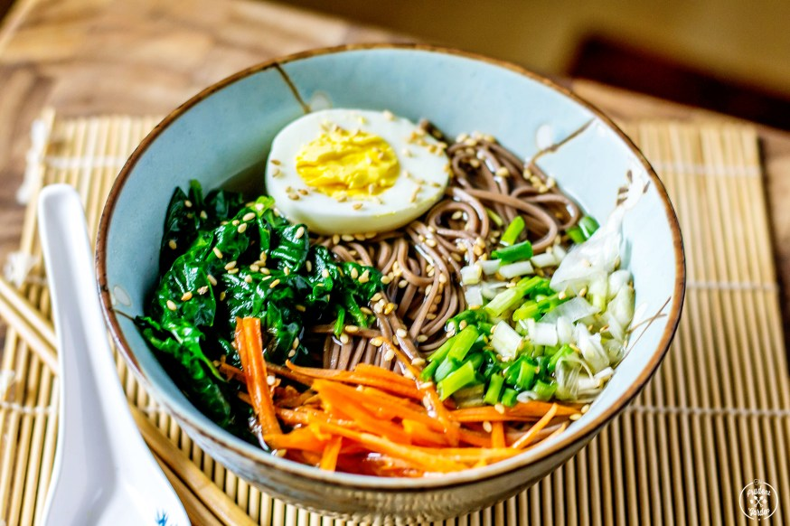 Easy Homemade Soba Noodle Ramen