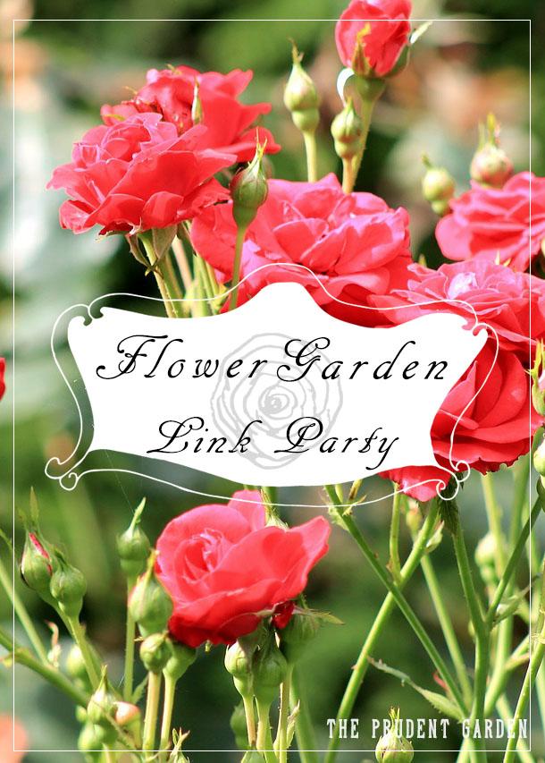 Flower Garden Link Party
