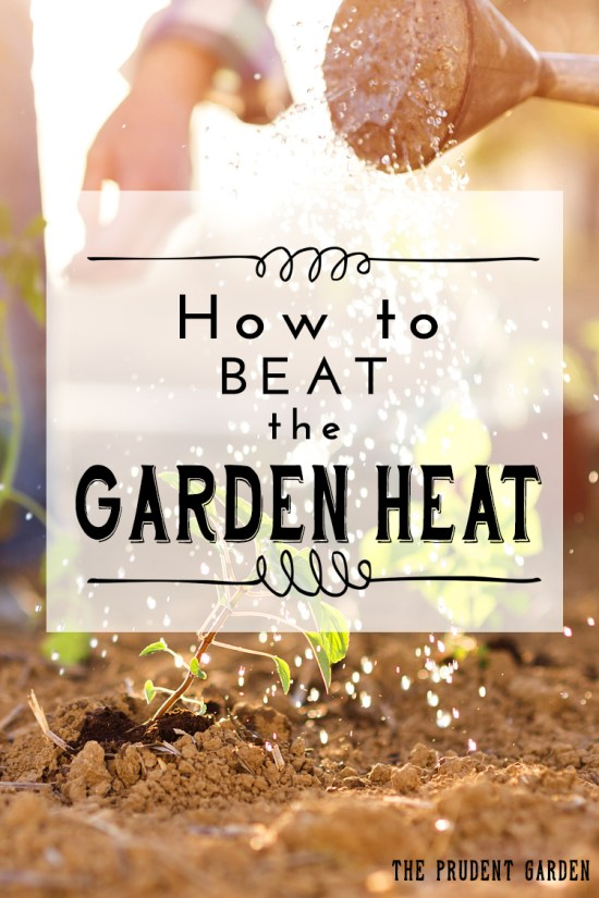 How To Beat The Garden Heat