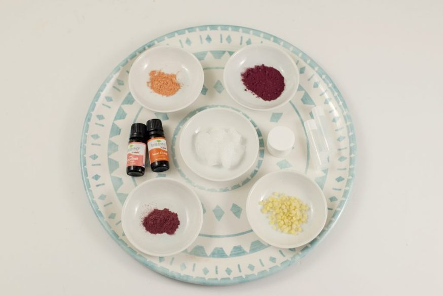 Natural Skincare Ingredients for lip stain
