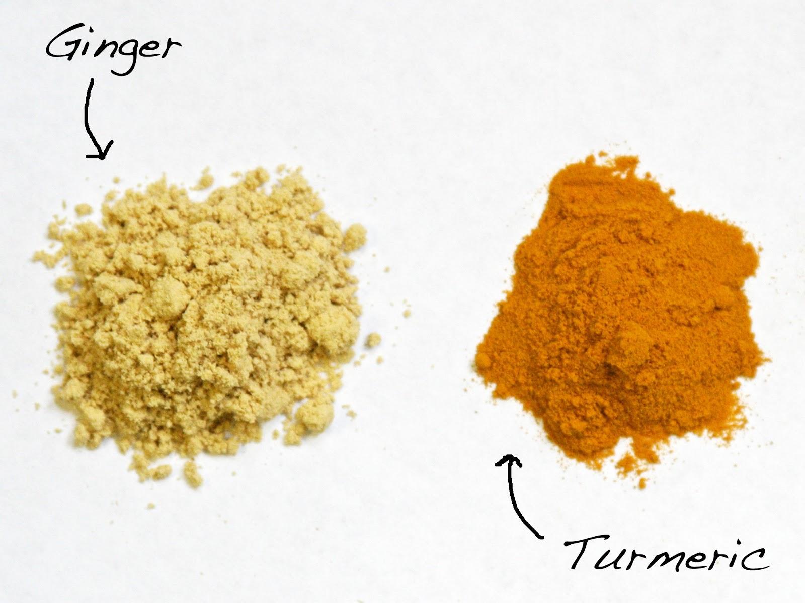 Image result for ginger vs turmeric