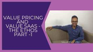 Value SaaS and Value Pricing