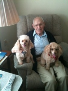 Uncle Jack with his girls