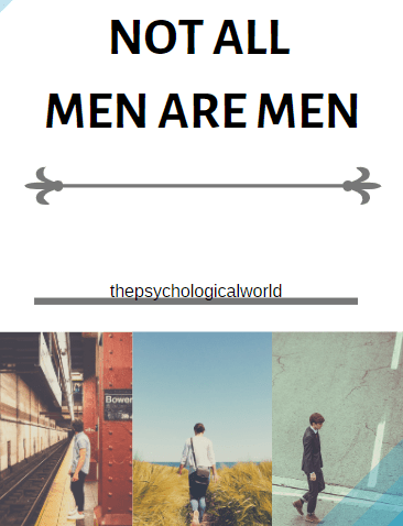 Not all men are men