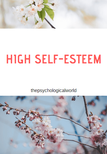 High Self-Esteem