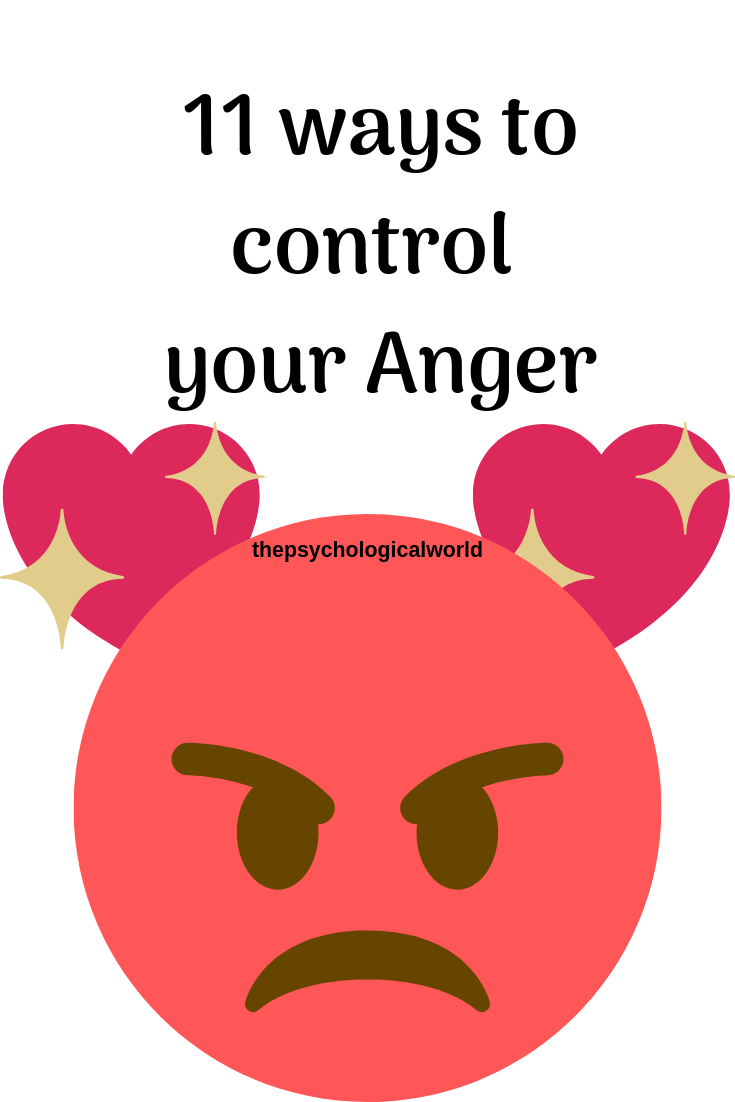 11 Ways To Control Your Anger 😠
