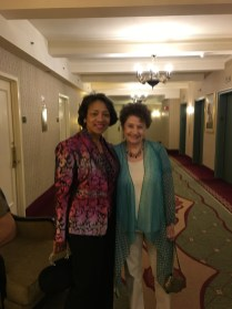 Mothah and Phyllis, all dressed up for Carnegie Hall