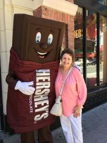 Mothah and her friend, Mr. Hershey Bah
