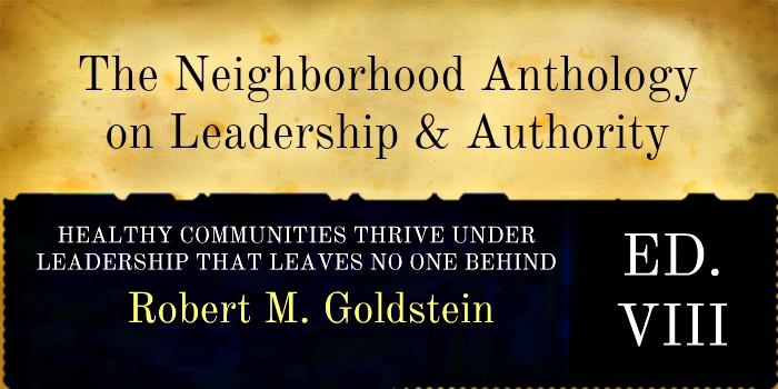 HEALTHY COMMUNITIES THRIVE UNDER LEADERSHIP THAT LEAVES NO ONE BEHIND