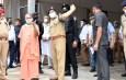 भूमि पूजन की तैयारियों का जायजा लेने के लिए अयोध्या पहुंचे सीएम योगी आदित्यनाथ