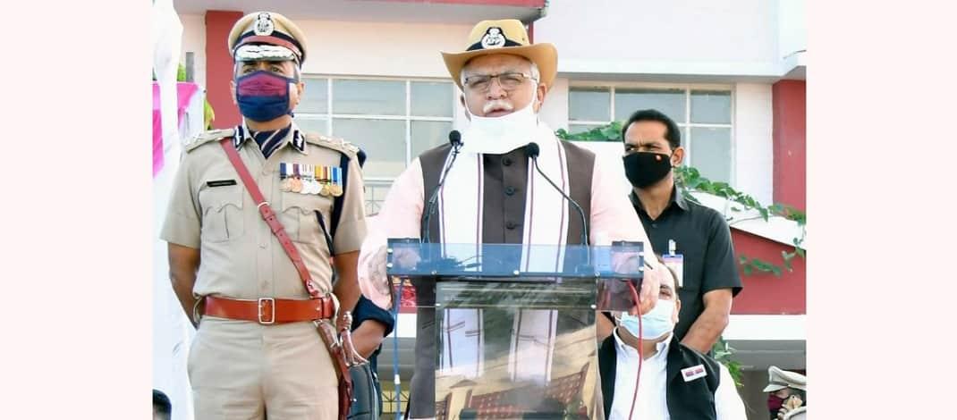 मुख्यमंत्री मनोहर लाल का ऐलान : हरियाणा के 50 पुलिस कर्मियों के परिवारों के एक-एक सदस्य को 1 नवंबर तक सरकारी नौकरी