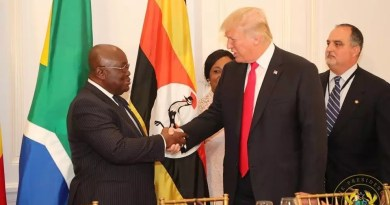 Akufo and Trump