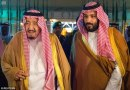 King Salman of Saudi Arabia (left) is planning to step down next week and name his son Prince Mohammed bin Salman (right) as his successor