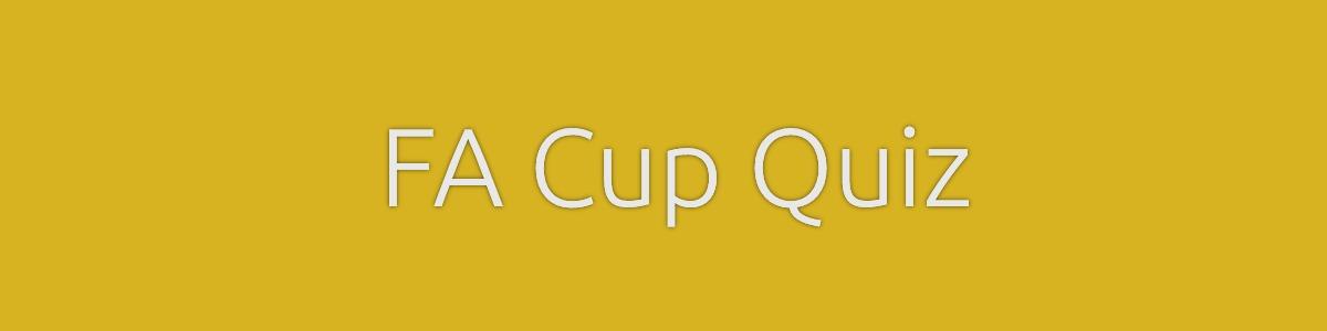 FA Cup Quiz