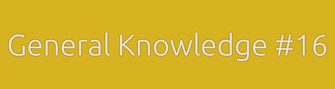 General Knowledge Banner