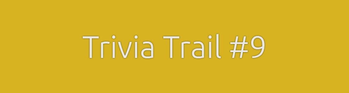 Trivia Trail Quiz
