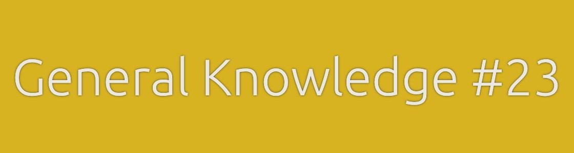 General Knowledge Quiz Banner