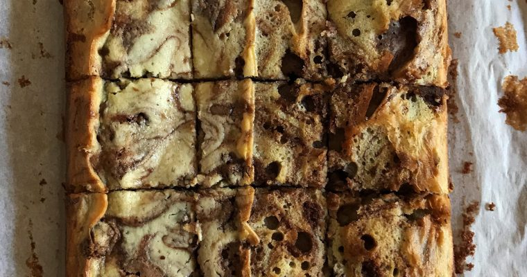 The recipe that started it all: Cream Cheese Marble Brownies