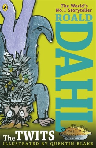 The Twits by Roald Dahl. Age 7+. Mr and Mrs Twit are extremely nasty, so the Muggle-Wump monkeys and the Roly-Poly bird hatch an ingenious plan to give them just the ghastly surprise they deserve!