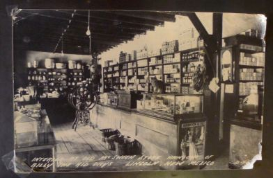 The Old Tunstall Store then...