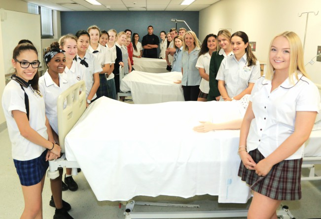 Blacktown hospital students certificate 3