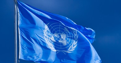 United Nations flag female genital mutilation