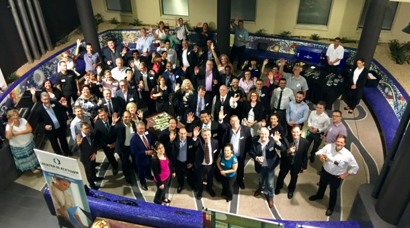 Guests at the Business After 5 function at Blacktown Hospital. Picture: Supplied