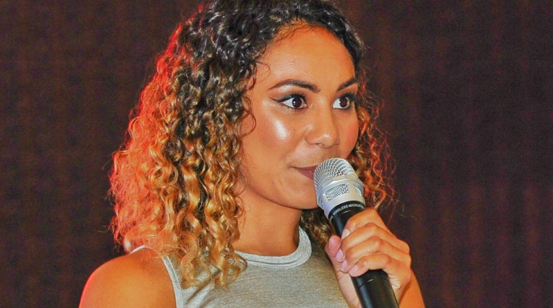 X Factor Australia contestant Shanell Dargan was special guest speaker and performer at the celebration for graduates of the 2016 Aboriginal Qualification Pathway.