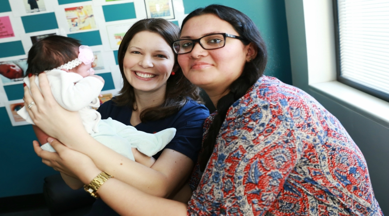 Midwife and new mum