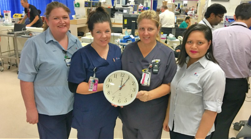 Time for change in Blacktown's emergency department with new staff roles to improve the patient experience of care. From left, Joanne, Erica, Michelle and Aileen.