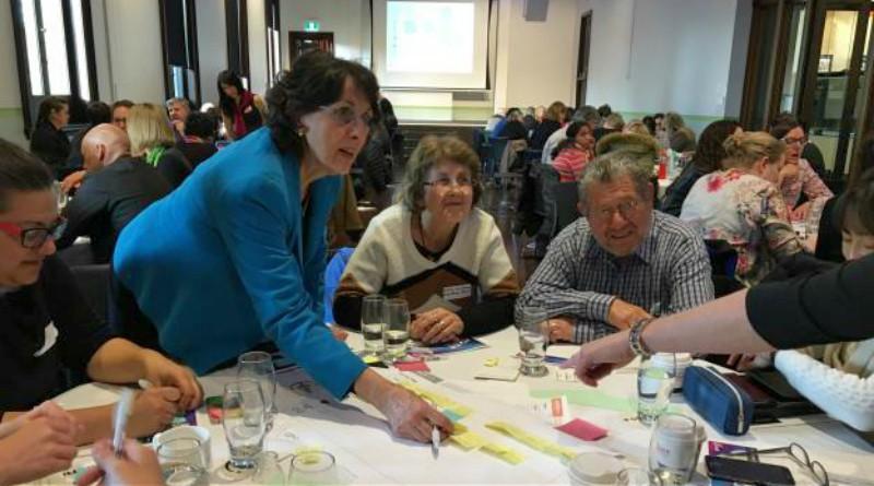 Participants at the Dare to Design our Health Future event.