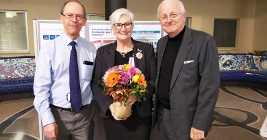 Blacktown Hospital pharmacist is retiring