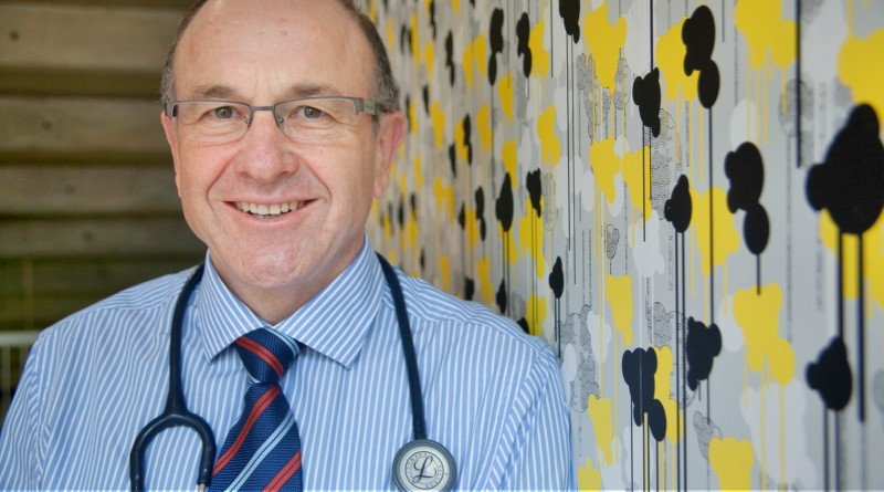Western Sydney Local Health District's director of supportive and palliative medicine Dr Philip Lee