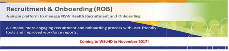 Recruitment and onboarding (ROB)