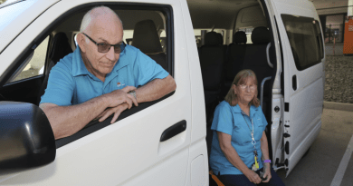 Mount Druitt Hospital volunteer drivers