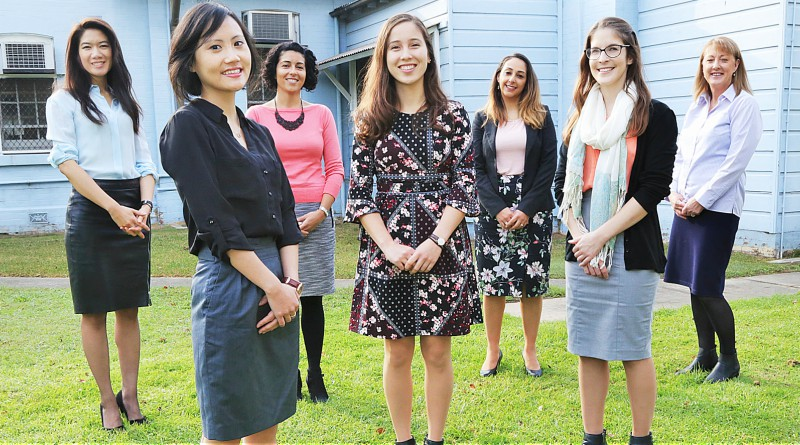 Clinical psychologist Jessamine Chen, clinical psychologist Dr Michelle Jiang, clinical psychologist Evelyn Kandris, provisional psychologist Melissa Clark, clinical psychologist Yasmeen El Masry, provisional psychologist Nathalie Elliot and medico - legal clerk Donna Buckley.