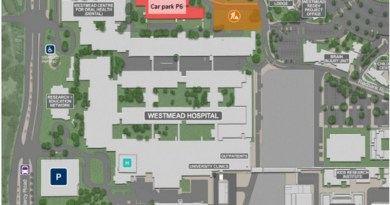 Car park P6 at Westmead Hospital will close until mid-November.