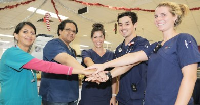 Blacktown emergency department staff