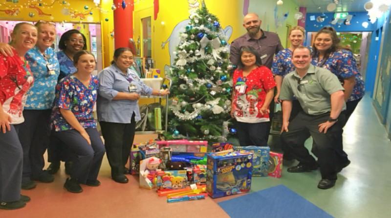 Christmas; Woolworth's; Mount Druitt Hospital; Ward 1A