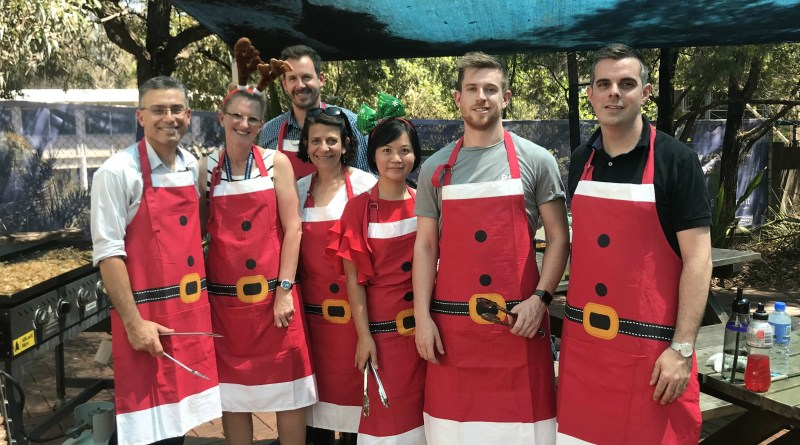 Westmead Christmas barbeque