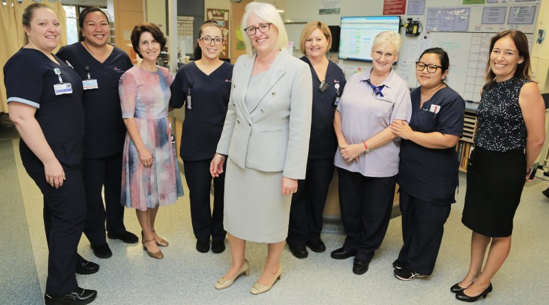 Westmead Hospital Jacqui Cross with staff